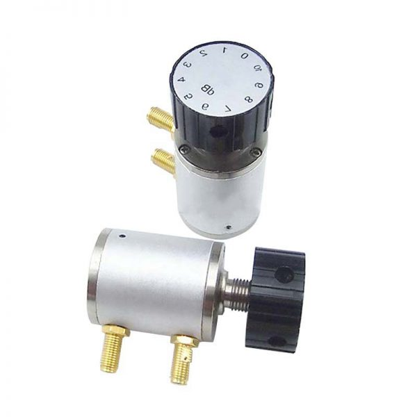 Manual-knob-variable-attenuator-6G-2W-10dB-SMA-Female-Connector